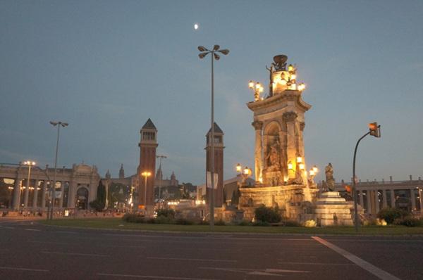 에스파냐광장과 카탈루냐미술관
