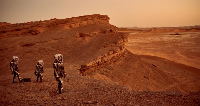 TV 시리즈 '인류의 새로운 시작, 마스'의 한 장면. 화성에 관한 과학적 사실을 극적 장치로 끌어들여 흥미를 높이는 방식으로 완성됐다.