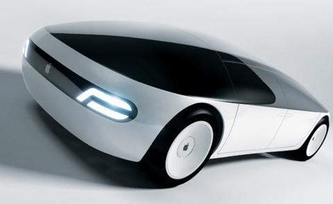 애플이 구상했던 미래형 자동차 '애플카'의 가상 이미지. 애플은 최근 무인차 제작 대신 자율주행차 소프트웨어 개발로 방향을 틀고 있다.