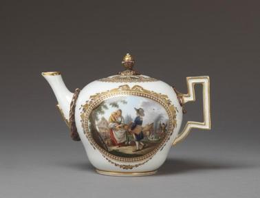 1790년경 독일의 도자기 회사 마이센에서 나온  베르테르 시리즈는 소설 베르테르의 장면을 제품에 넣어 화제가 됐다.
