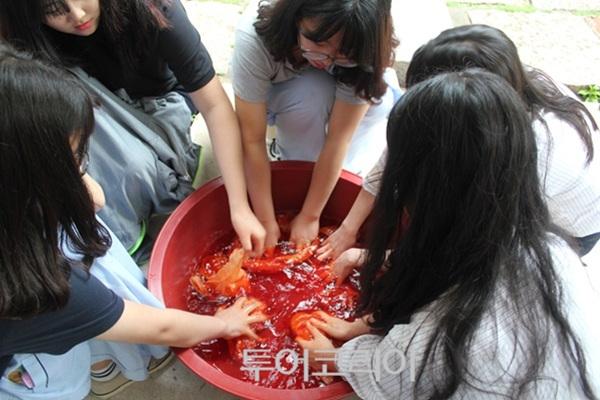 북촌동양문화박물관 염색체험