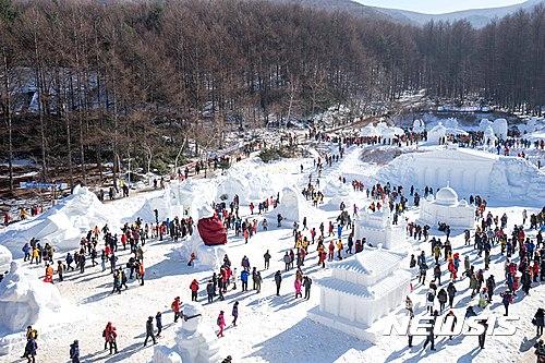 '눈, 사랑 그리고 환희' 태백산눈축제 1월13일 개최