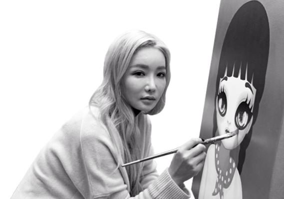 그녀는 2011년 파워풀한 걸그룹 2NE1의 앨범 이미지 작업을 했고, 'Hate You'라는 뮤직비디오를 연출하기도 했다./사진=고운호 기자