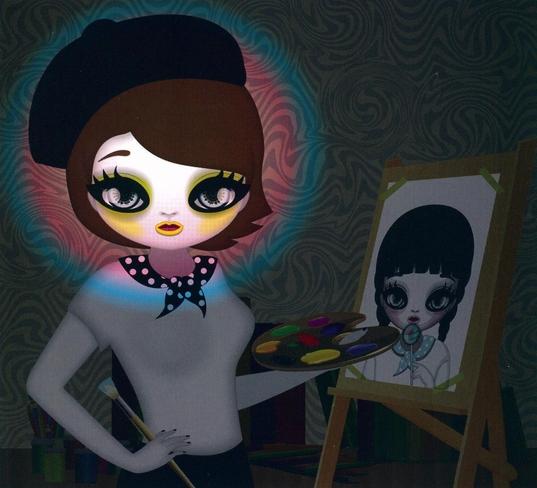 <Mari Kim(Self Portrait)>
