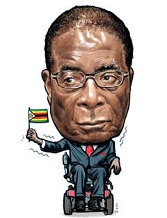 욕 먹으면 장수한다더니… 짐바브웨 독재자 무가베