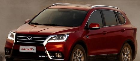 북기은상기차의 중형 SUV 차량인 S6./ 중한자동차 홈페이지