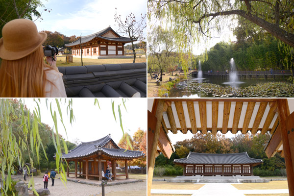 시가문화촌에서는 담양의 대표 정자들과 한옥체험장, 소리전수관 등에서 담양의 역사와 문화를 체험해볼 수 있다.
