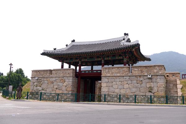 나주시내에서 볼 수 있는 나주읍성터의 모습