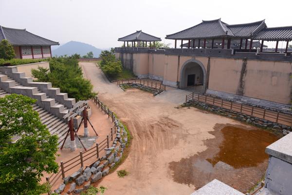 드라마 촬영장소로 '나주 영상테마파크'의 모습
