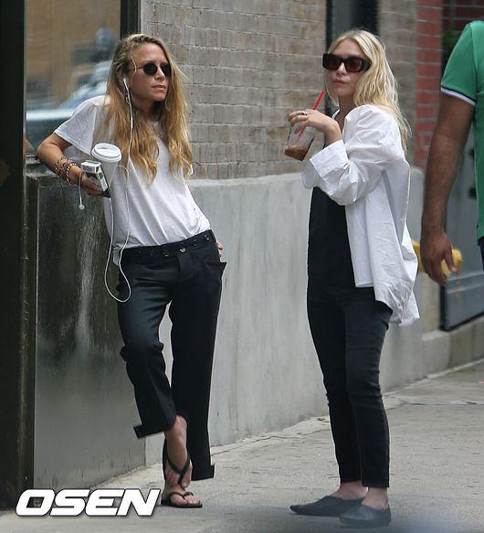 [Oh!llywood] 애슐리 올슨 쌍둥이 자매, 함께 '커플 데이트'