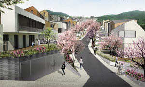 서초구가 방배동 국회단지 일대에 조성하기로 한 친환경 전원주택 단지 조감도.