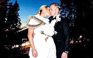 '한국선수 킬러' 페테르센, 노르웨이 사업가와 결혼