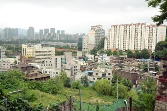 서울의 한 지역주택조합이 추진하던 주택조합아파트 사업 부지 전경. /고성민 기자