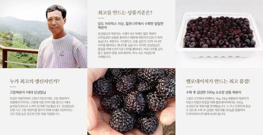 헬로네이처의 생산자(농가) 소개 페이지. / 홈페이지 캡처