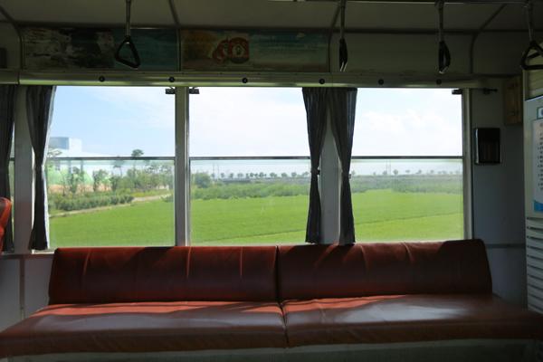 증기기관차 내부와 기차에서 바라보는 곡성의 풍경
