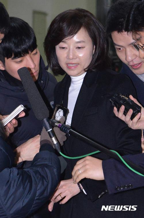 조윤선 장관, 대한체육회 훈련개시식 불참
