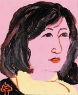 남편 김병종 교수가 그린 아내의 초상화.