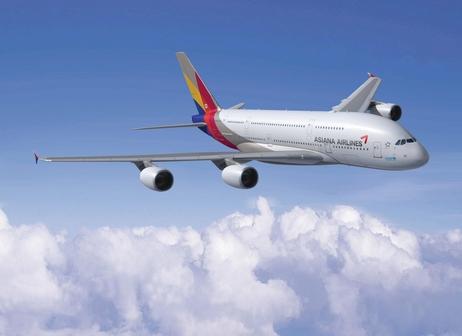 아시아나항공 A380 여객기./아시아나항공 제공