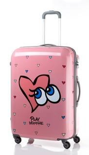 여행 캐리어 브랜드 쌤소나이트와 콜라보한 플레이노모어 제품