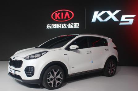 기아자동차 중국 합작법인이 만드는 KX5. 13일부터 중국에서 리콜에 들어간다. /바이두