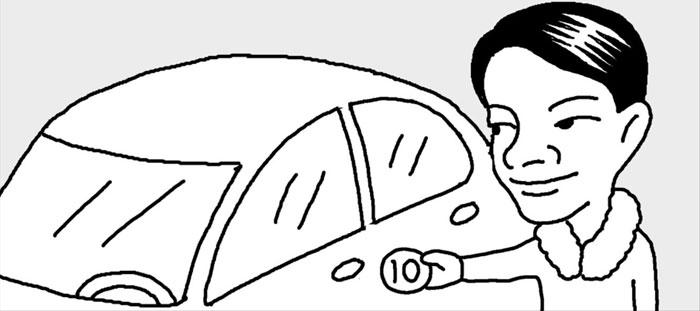[리빙포인트] 자동차 문 열때 정전기 방지법