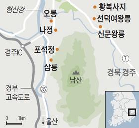 남산 여행지도