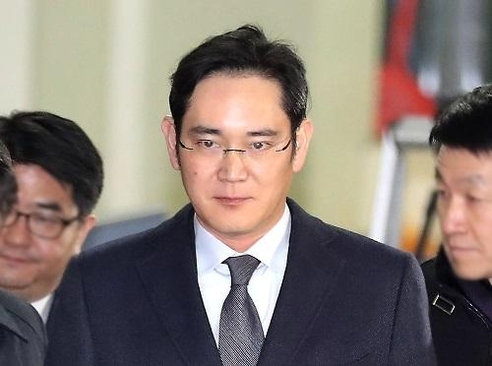 지난 14일 특검 조사를 마친 이재용 부회장./연합뉴스 제공