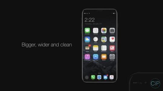 아이폰8에 대해 사용자들이 기대하고 있다. / 컨셉아이폰 유튜브 영상 캡처