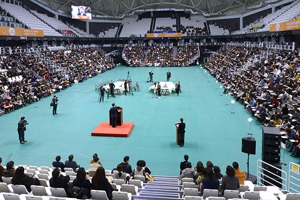 지난 16일 열린 사전설명회에는 1500명의 도민이 참여했다. 이번 심사는 오는 23일 오전 10시 킨텍스에서 열린다.