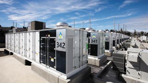 미국 AES가 삼성SDI에서 배터리를 공급받아 캘리포니아에 조성한 대규모 에너지 저장 시설.