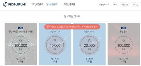 아시아 1위 클럽인 '클럽 옥타곤'은 최근 피플펀드를 통해 카드매출을 담보로 10억원짜리 채권을 발행했다. /피플펀드 홈페이지 캡처