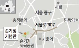손기정 기념관 위치 지도