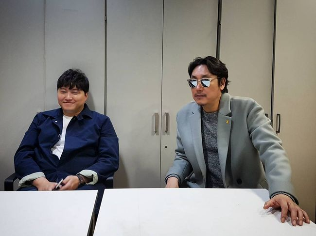 """[★SHOT!] 조진웅X김대명, 카리스마 폭발..""""비주얼은 나쁜녀석들?"""""""