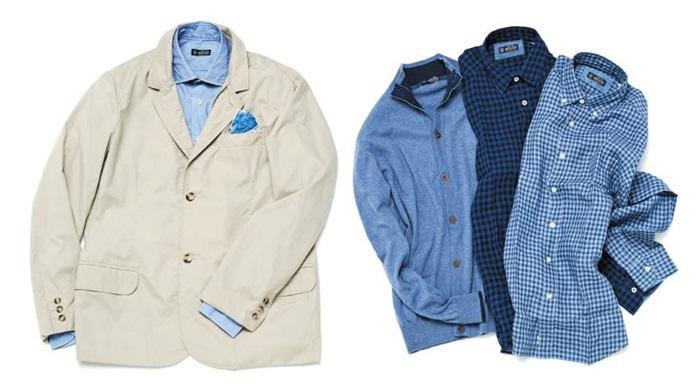 브로이어의 '아스펜 재킷'과 함께 매치하면 좋을 셔츠들.