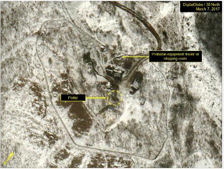 """美 38노스 """"北 핵실험장 활동 지속 포착… 6차 핵실험 준비 가능성"""""""