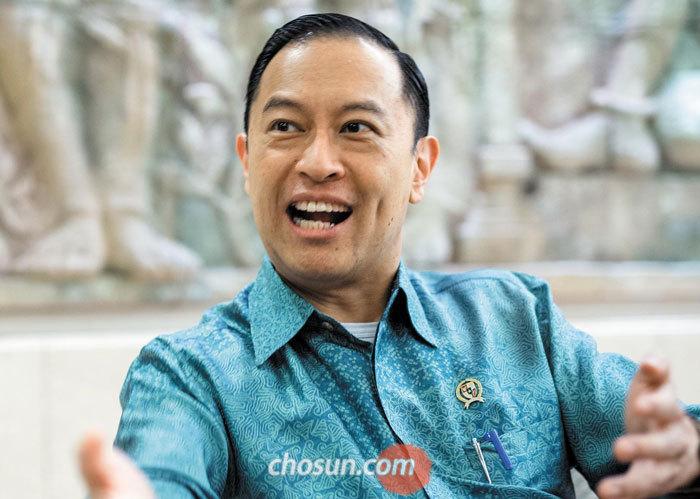 인도네시아의 토마스 렘봉 투자조정청장