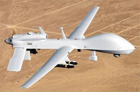 최신형 무인공격기 MQ-1C 그레이 이글