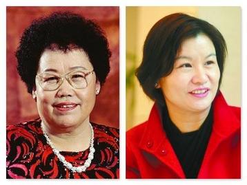 흙수저 세계 여성 부호 1,2위에 오른 중국 푸화그룹의 천리화 회장(왼쪽)과 란쓰커지의 저우췬페이 회장 /바이두