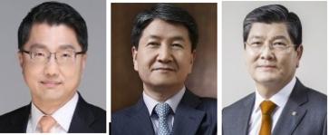 진웅섭 금감원장, 김창수 삼성생명 사장, 차남규 한화생명 사장(사진 왼쪽부터)