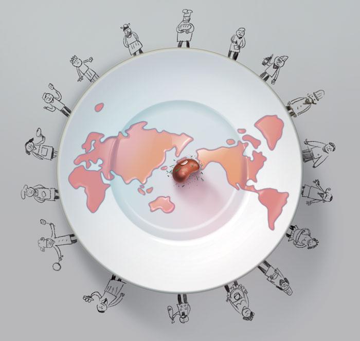 [김성윤의 맛 세상] 셰프들이여, 세상을 요리하라