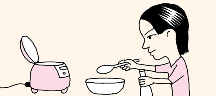 [리빙포인트] 묵은쌀로 윤기나는 밥 짓기