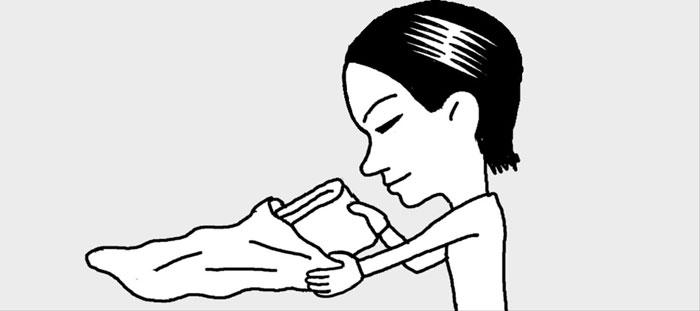 [리빙포인트] 얇은 이불·패드 보관하는 법