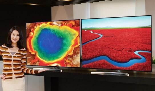 나노셀 기술이 적용된 LG전자 슈퍼 울트라HD TV / LG전자 제공