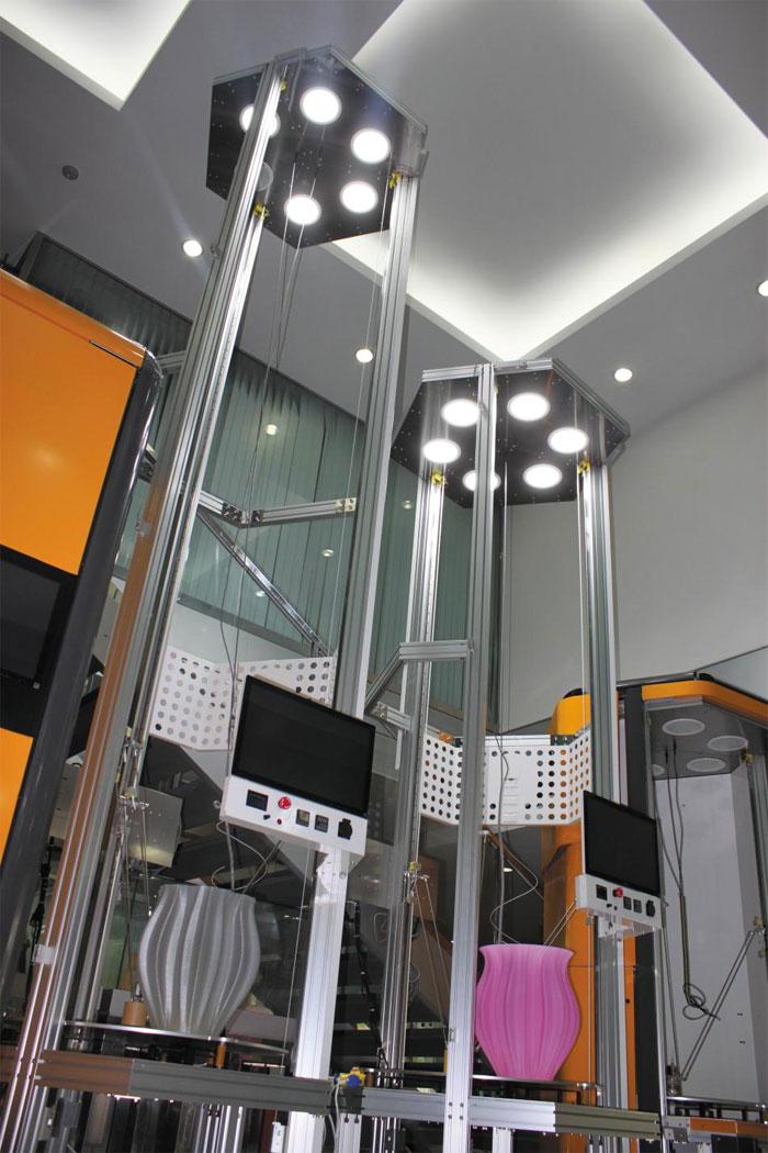 국민대 3D프린팅혁신센터 모습.