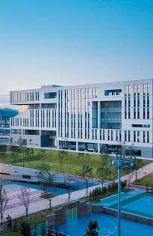 연세대 국제캠퍼스 전경.