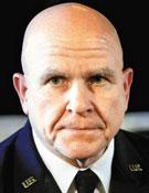 허버트 맥매스터 미 백악관 국가안보보좌관