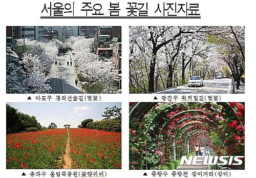 서울 주요 꽃길