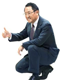 도요다 아키오 사장