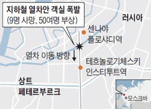 지하철 열차안 객실 폭발
