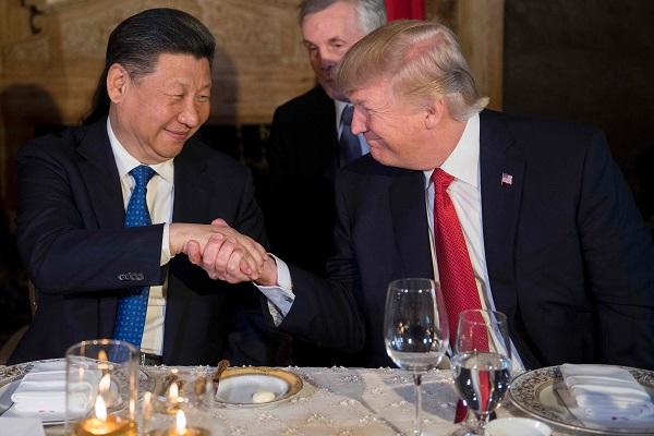 Image result for 트럼프 시진핑